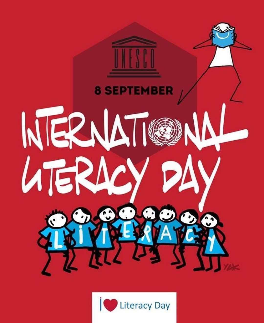 International Literacy Day 2019 theme, quotes, activities