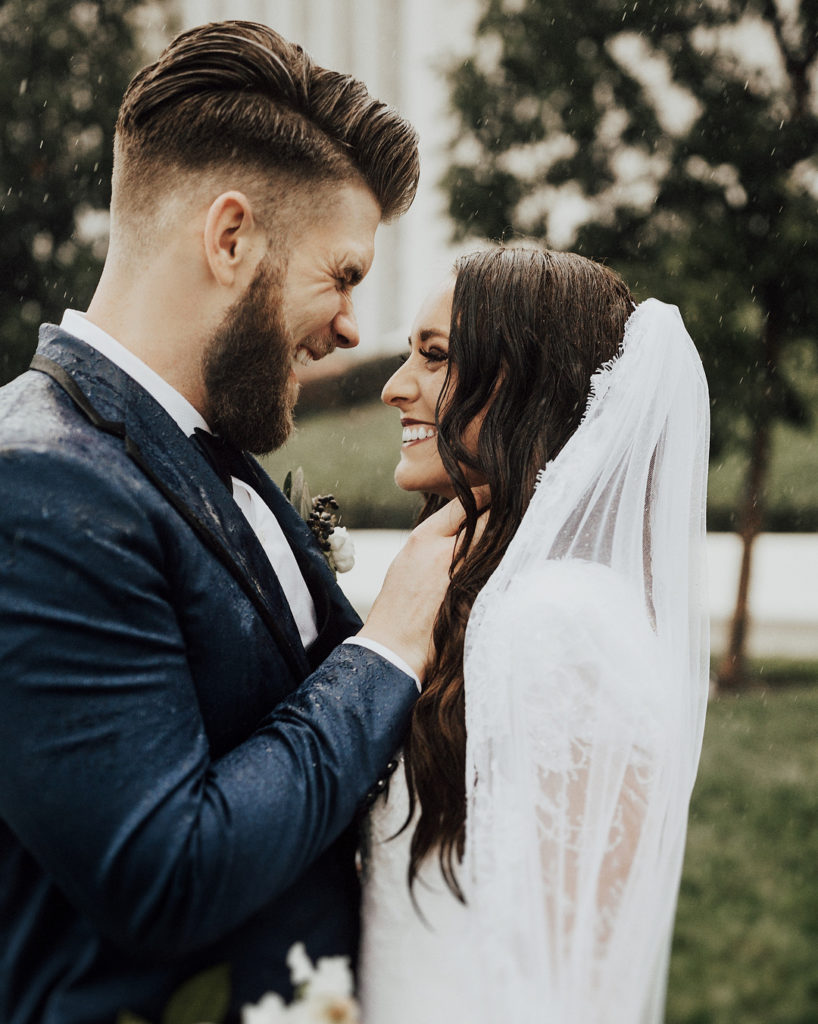 Kayla Varner and Bryce Harper marriage photos