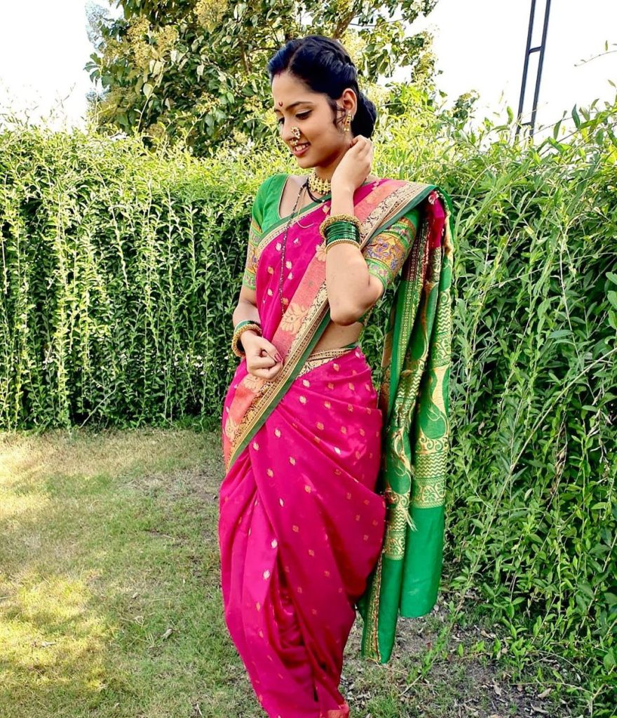Vidula Chougule in Saree