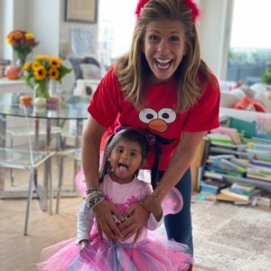 Hoda Kotb with adopted baby girl Haley