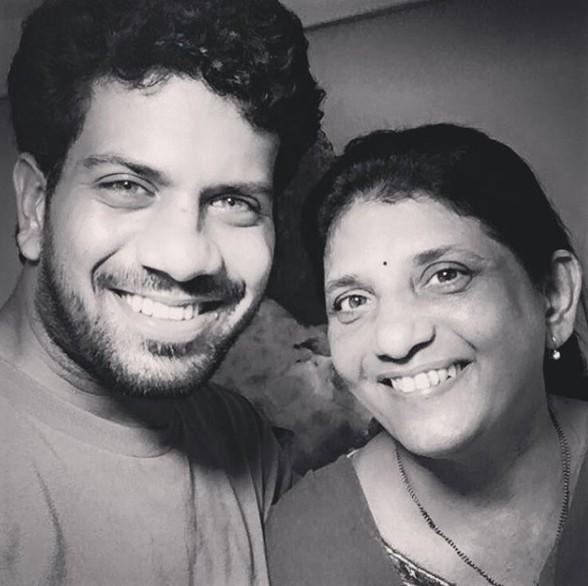 Ashutosh Gokhale with Mother