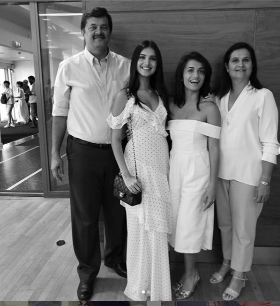 Pia Sutaria with Family