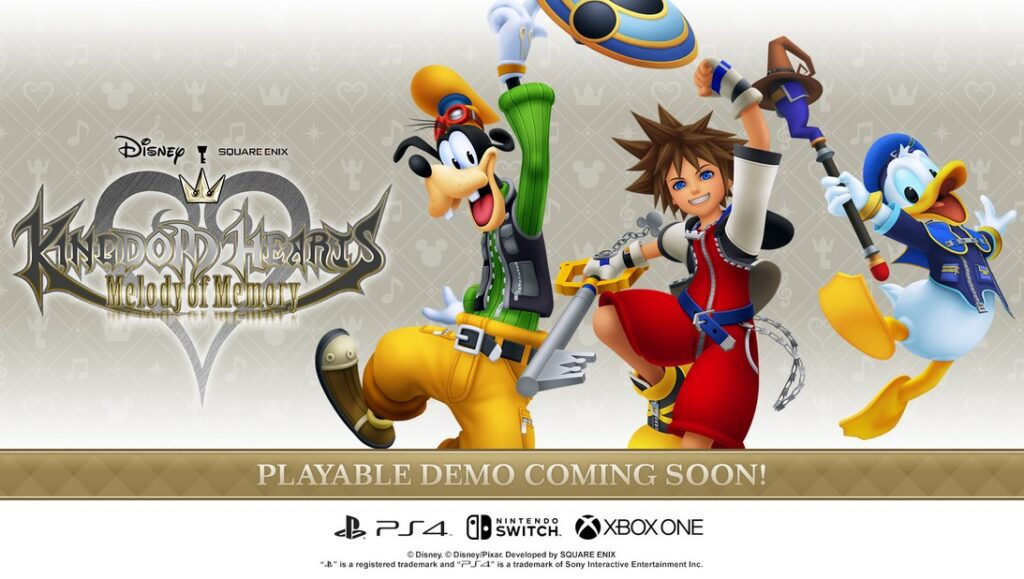 kingdom hearts melody of memory deom release date