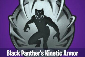 Black Panther Kinetic Armor Fortnite