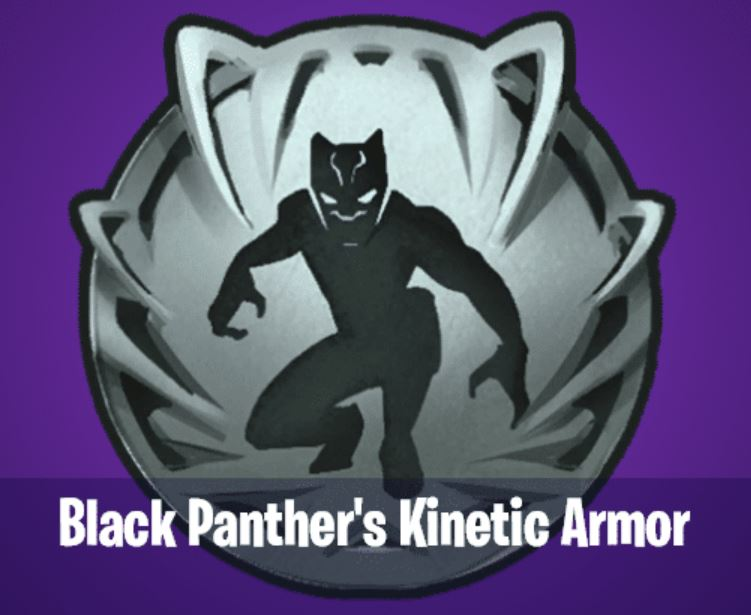 Black Panther Kinetic Armor Fortnite