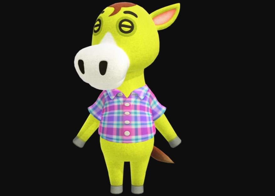 Clyde The Horse Animal Crossing