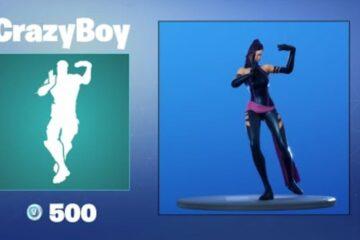 Crazy Boy Emote Fortnite