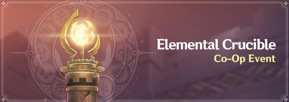 Genshin Impact Elemental Crucible