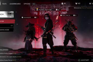 Ghost Of Tsushima Legends Nightmare Mode