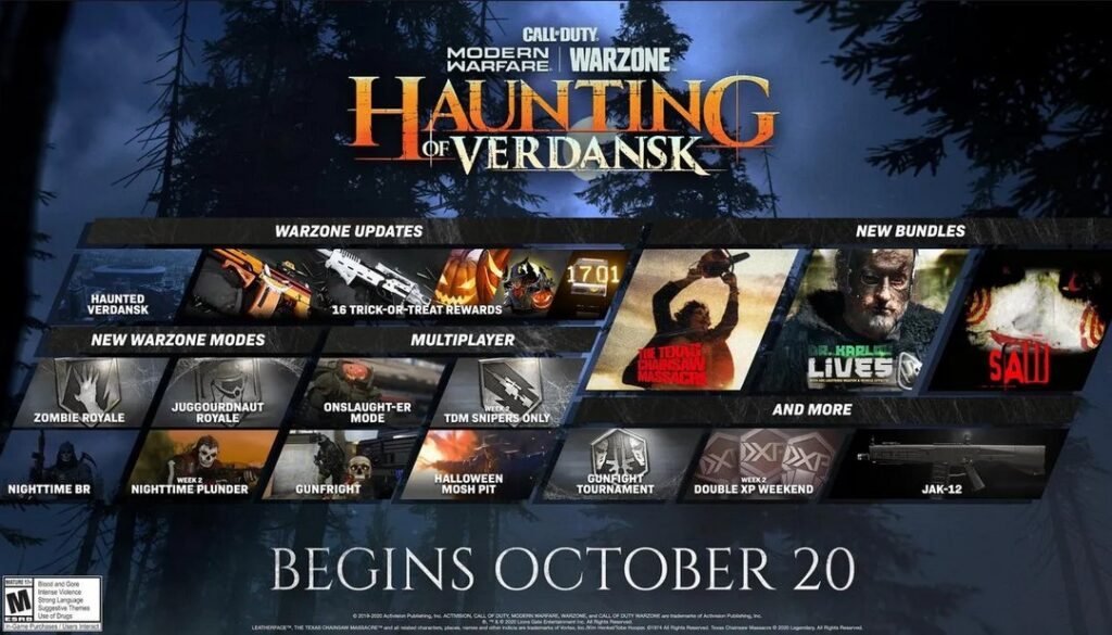 haunting of verdansk release time