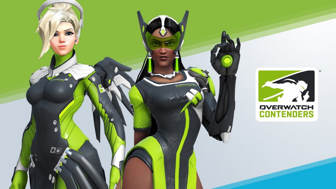 how to get overwatch contenders skins