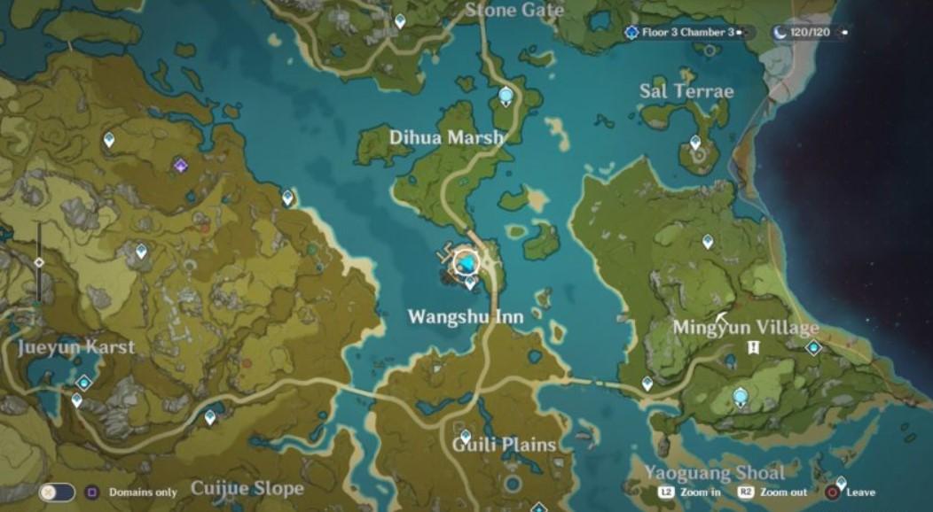 wangshu inn genshin impact location